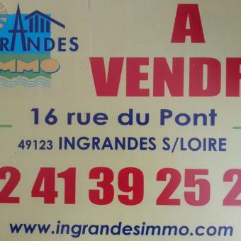 Vente maison – Saint-Pierre-Montlimart